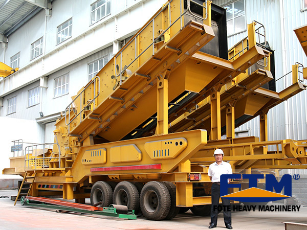 Mobile Jaw Crusher/Jaw crusher/Crawler Mobile Jaw Crusher