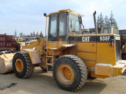 used cat 938f wheel loader
