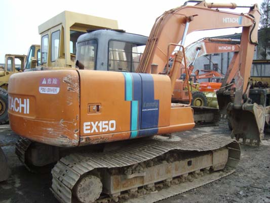 used hitachi ex150 excavator