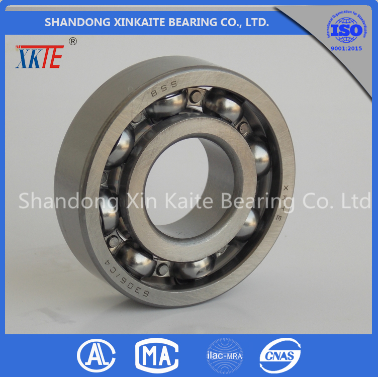 best sales XKTE brand idler roller Bearing 6306 for mining machine from china Bearing supplier