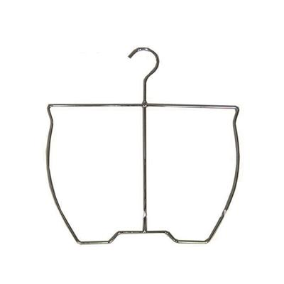 Custom Store Chrome Plated Swimsuit Clothing Display Hangers