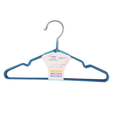 Pace Saver Infant And Toddler Non Slip Metal Clothes Hangers with PVC Coating
