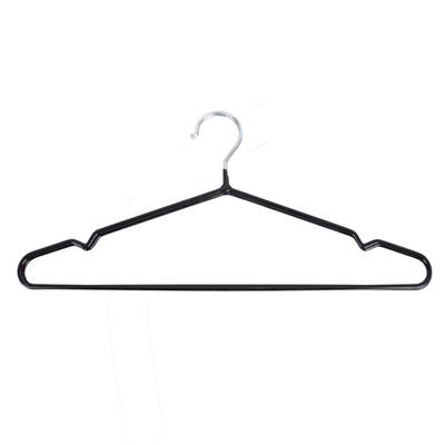 Buy Best Closet Black Heavy Duty Vinyl Coated Coat Hangers