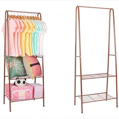 Portable Folding Metal Wardrobe Clothes Rack
