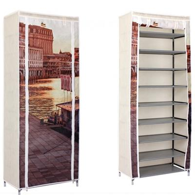 Corner Cool Custom Stackable Big Shoe Rack