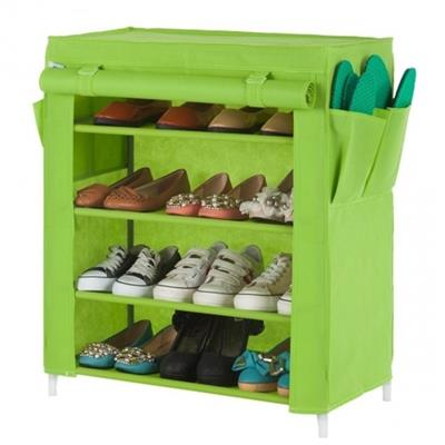 Nice Cheap Plastic Low Shoe Rack With Cover