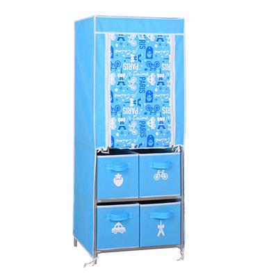 Buy Cheaper Portable Foldable Kids Cloth Wardrobe Closet