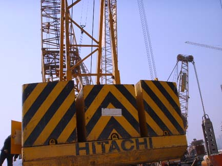 used hitachi kh700 crawler crane