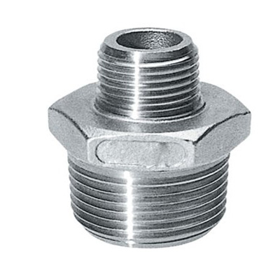 Reducing Hexagonal Nipple, Class 6000, Forged Steel Threaded Fittings, Dn 1/2 Inch X 1/4 Inch