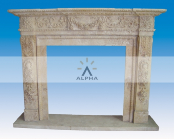 carved marble fireplace mantels