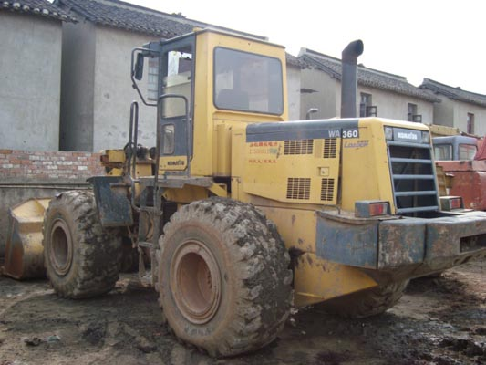 used tomatsu wa360 wheel loader