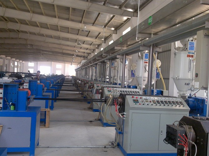 pa66 strip ectrusion line