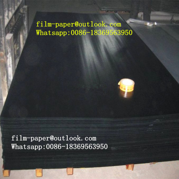 Phenolic resin impregnated film face paper