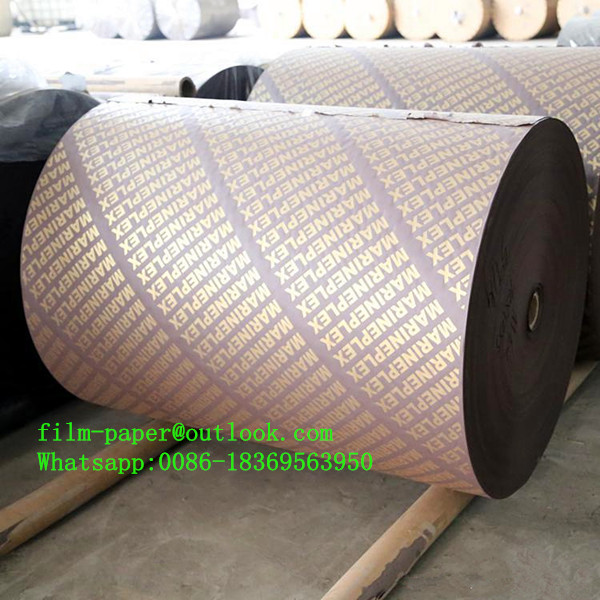 Phenolic film paper lamination