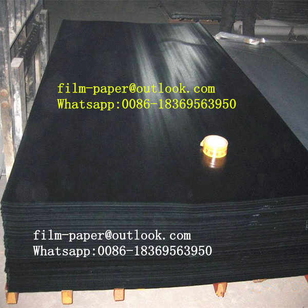 Factory sale film face paper sheet