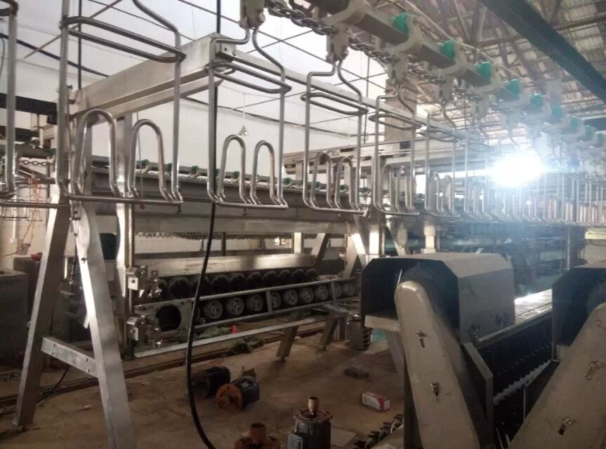 broiler chicken poultry slaughterhouse abattoir equipment