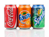 Soft Drink Coca Cola - Fanta- Sprite Can 330ml for Sale