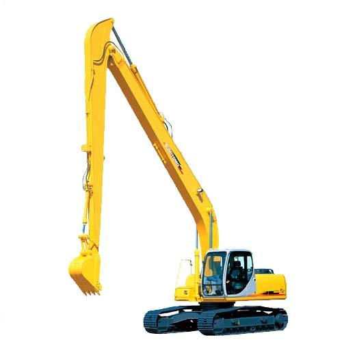 excavator boom and arm
