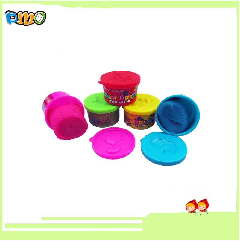 2016Factory 1oz Intelligent Non toxic 5 colored High Quality play dough