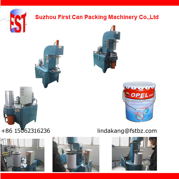 Conical pail making machine