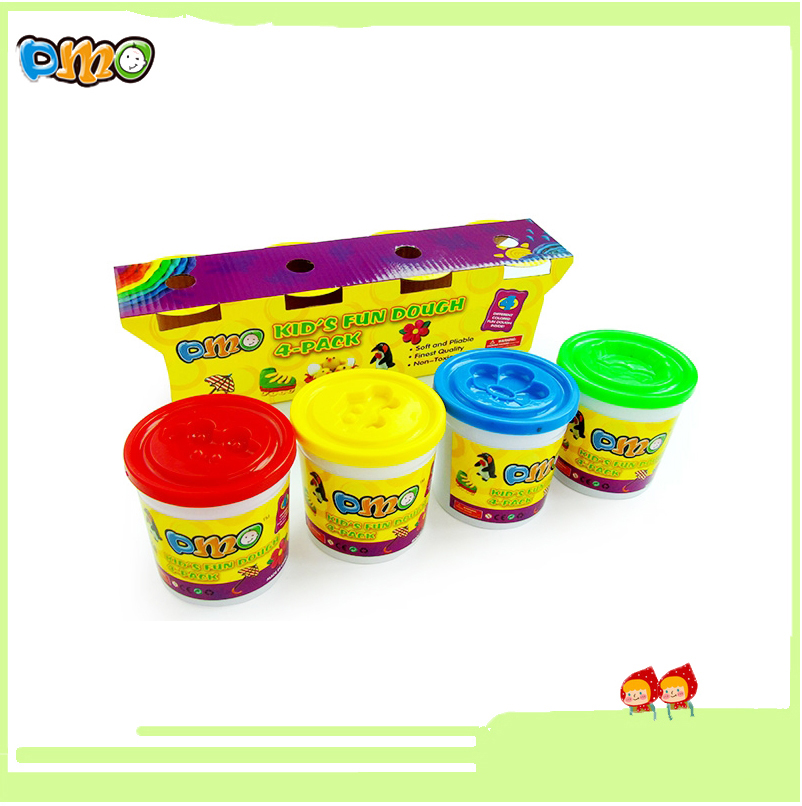 Factory direct 5OZ/4color clay modern safety intelligent play dough for kids