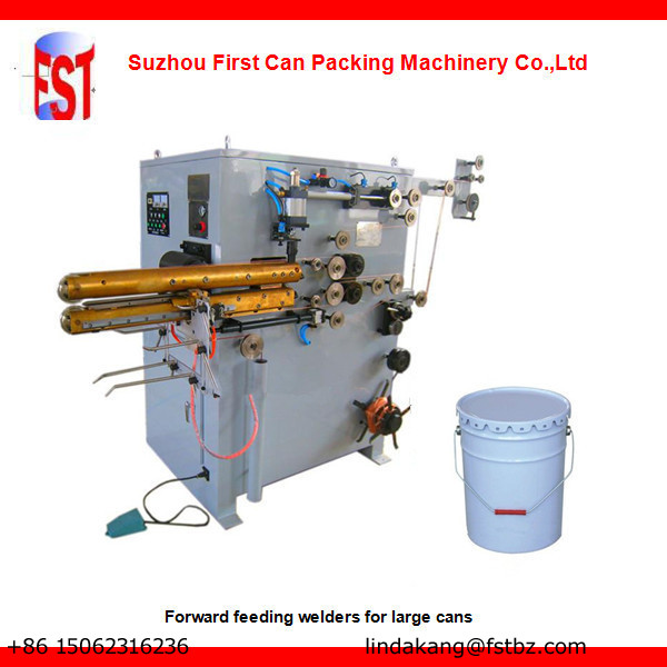 Forward seam welding machine