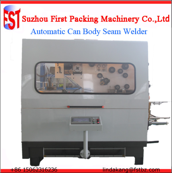 Automatic can seam welders