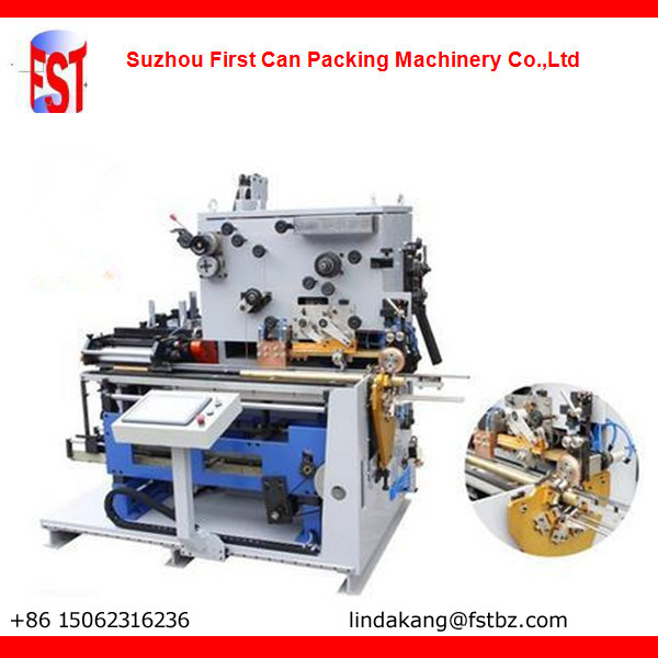 Automatic seam welding machine for can