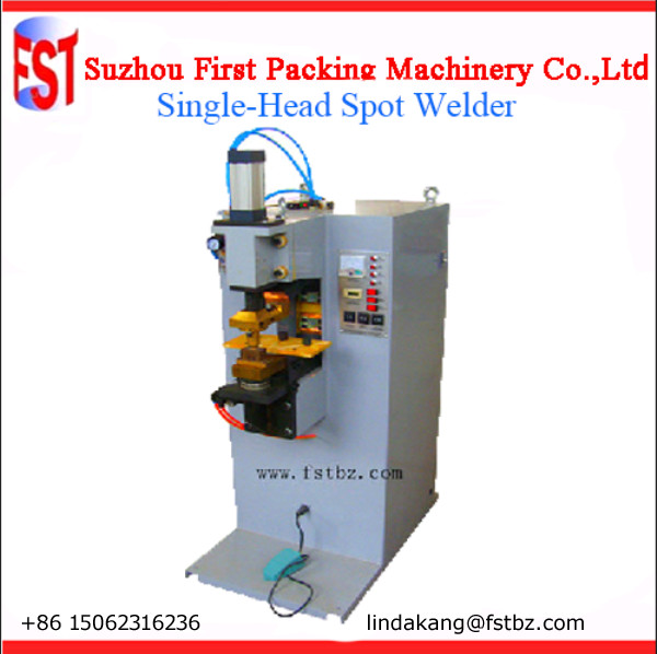 single ear spot welding machine for square can