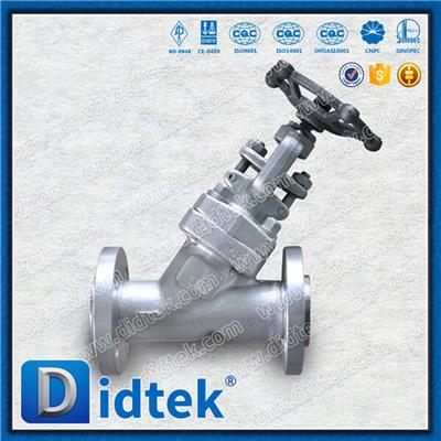 Forged Y Pattern Globe Valve