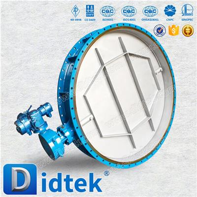 Cast Steel Ventilation Butterfly Valve