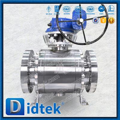F347/F51/F53 Trunnion Ball Valve