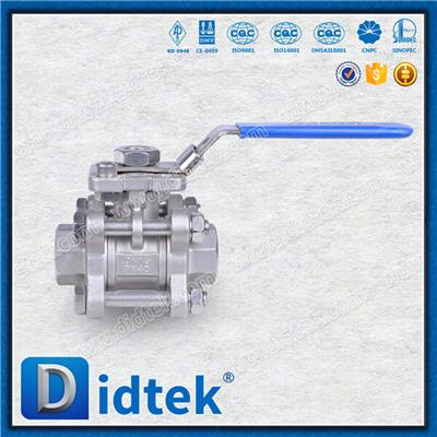 Cast Steel Piece Ball Valve