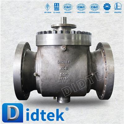 Stainless Steel Top Entry Ball Valve
