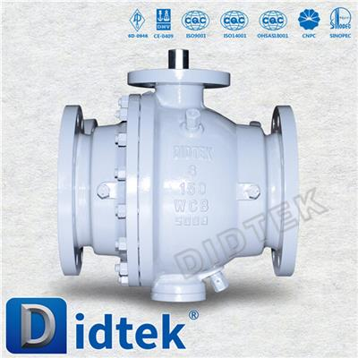 Cast Steel Soft Seated Trunnion Ball Valve