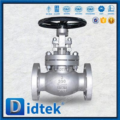 Stainless Steel Bolted Bonnet Globe Valve