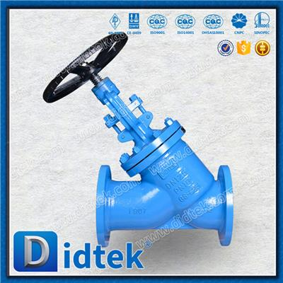 WC6/WC9 Alloy Steel Y Pattern Globe Valve