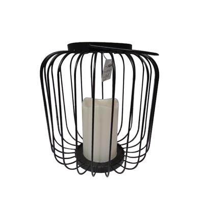 Portable Modern Wrought Iron /metal Lanterns /Wrought Iron /Wrought Metal Candlestick