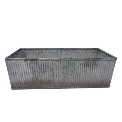 Designs/metal Rectangular/ Balcony Planter Flower Box