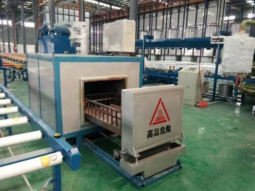 Infrared Die Oven For Aluminum Extrusion Line