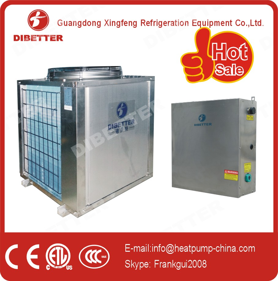 EVI(-25℃ ambient temp.) heat pump