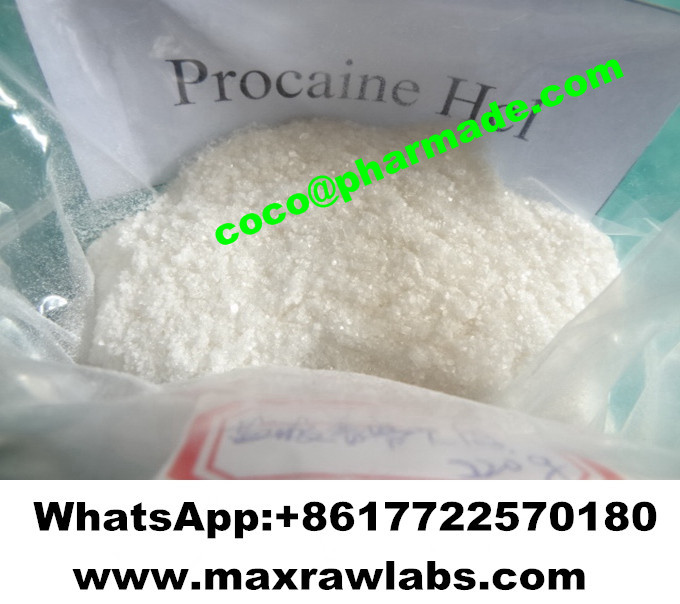 Lidocaine HCl Oral Treatment Powder Local Anaesthetics Lidocaine Hydrochloride