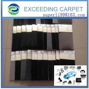nonwoven polyester felt fabric for auto