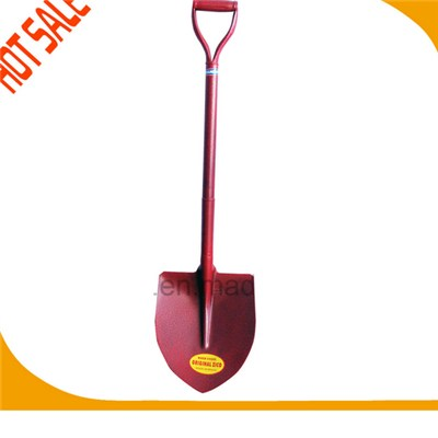 High Quality Whole Steel Handle Point Shovel
