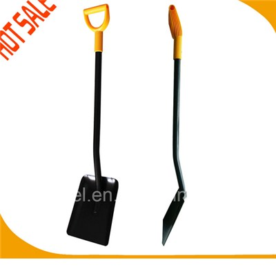 Ergonomic Handle All Steel Square Shovel S519cpd