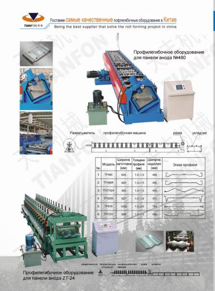 roll forming machine for collecting electrodes(collection plates)