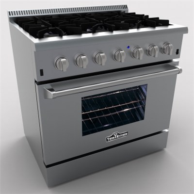 36 inch freestanding gas cooker 6 burners stainless steel gas cooker with oven