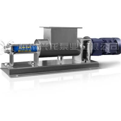 Wide Throat Sanitary Single Screw Pump