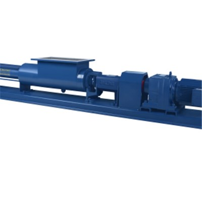 Open Hopper Single Screw Pump