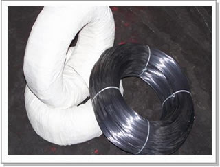 Stainless Steel 304/BWG18 Black Annealed/2mm PVC coated Wire